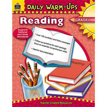 Daily Warm-Ups Reading Gr 1 By Teacher Created Resources