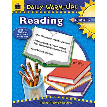 Daily Warm-Ups Reading Gr 2 By Teacher Created Resources