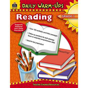 Daily Warm-Ups Reading Gr 3 By Teacher Created Resources