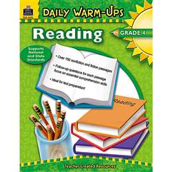 Daily Warm-Ups Reading Gr 4 By Teacher Created Resources