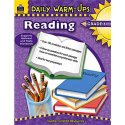Daily Warm-Ups Reading Gr 6 By Teacher Created Resources