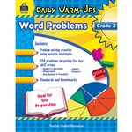 Daily Warm Ups Word Problems Gr 2 By Teacher Created Resources