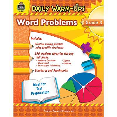 Daily Warm Ups Word Problems Gr 3 By Teacher Created Resources