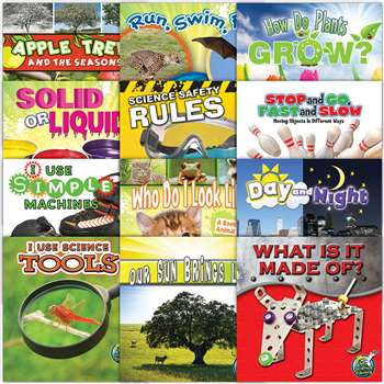 My Science Library Set Of 12 Gr K-1 By Teacher Created Resources