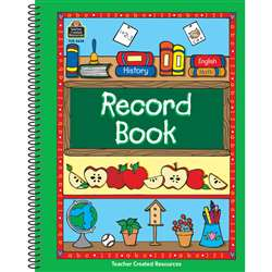 Record Book Green Border By Teacher Created Resources
