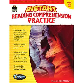 Instant Reading Gr 2 Comprehension Pratice, TCR3636