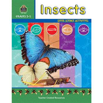 Insects Gr 2-5 By Teacher Created Resources