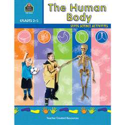 The Human Body Gr 2-5 By Teacher Created Resources