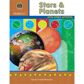 Stars And Planets Gr 2-5 By Teacher Created Resources