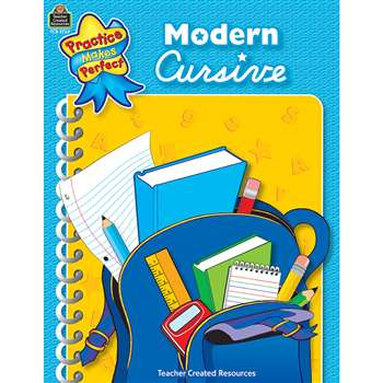 Modern Cursive Gr 1-2 Practice Makes Perfect By Teacher Created Resources