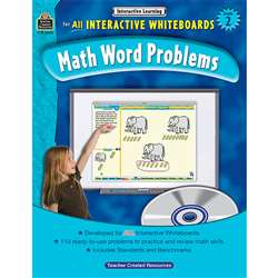 Interactive Learning Gr 2 Math Word Problems By Teacher Created Resources