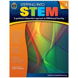 Stepping Into Stem Gr 3, TCR3869