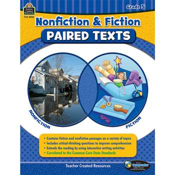 Nonfiction Fiction Paired Texts Gr5, TCR3895