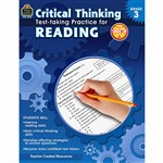 Gr 3 Critical Thinking Test Taking Practice For Re, TCR3912