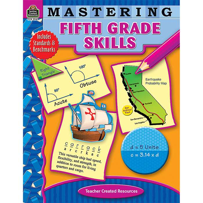 Mastering Fifth Grade Skills By Teacher Created Resources