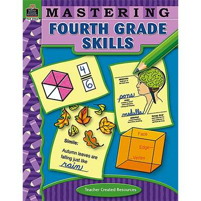 Mastering Fourth Grade Skills By Teacher Created Resources