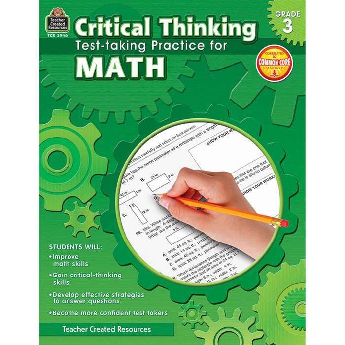 Gr 3 Critical Thinking Test Taking Practice For Ma, TCR3946