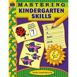 Mastering Kindergarten Skills By Teacher Created Resources