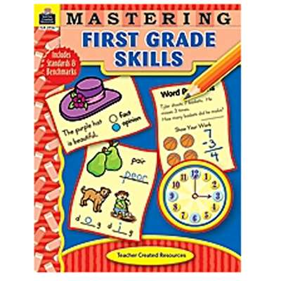 Mastering First Grade Skills By Teacher Created Resources