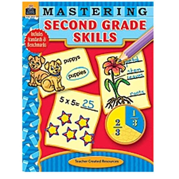 Mastering Second Grade Skills By Teacher Created Resources