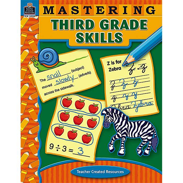 Mastering Third Grade Skills By Teacher Created Resources