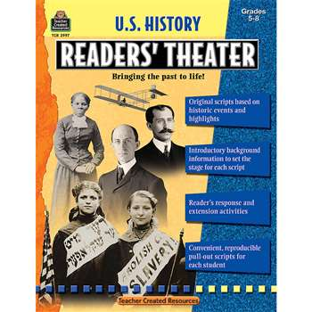 Us History Readers Theater Gr 5-8 By Teacher Created Resources