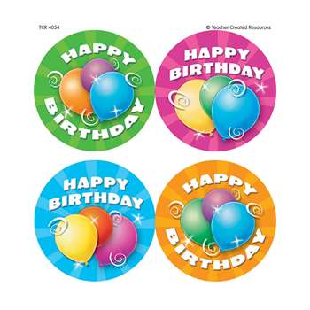 Birthday Wear Em Badges By Teacher Created Resources