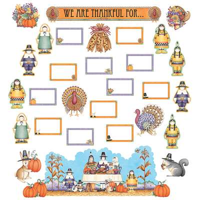 Dm We Are Thankful Bulletin Board Set By Teacher Created Resources