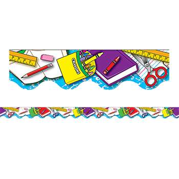 School Tools Border Trim By Teacher Created Resources
