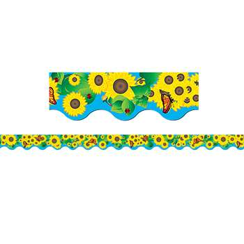 Sunflowers Border Trim By Teacher Created Resources