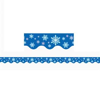 Snowflakes Border Trim By Teacher Created Resources