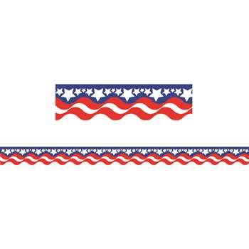 Patriotic Border Trim By Teacher Created Resources