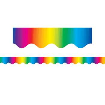 Multicolor Border Trim By Teacher Created Resources