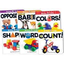 Baby Talk Board Books Set Of 6, TCR418679