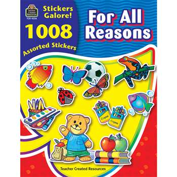 For All Reasons Sticker Book 1008Pk By Teacher Created Resources