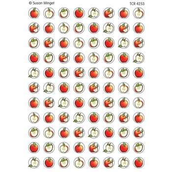 Sw Apples Mini Stickers By Teacher Created Resources
