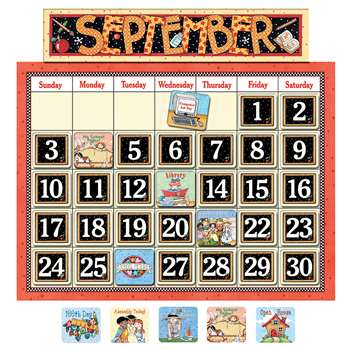 Classroom Calendar Bulletin Board By Teacher Created Resources
