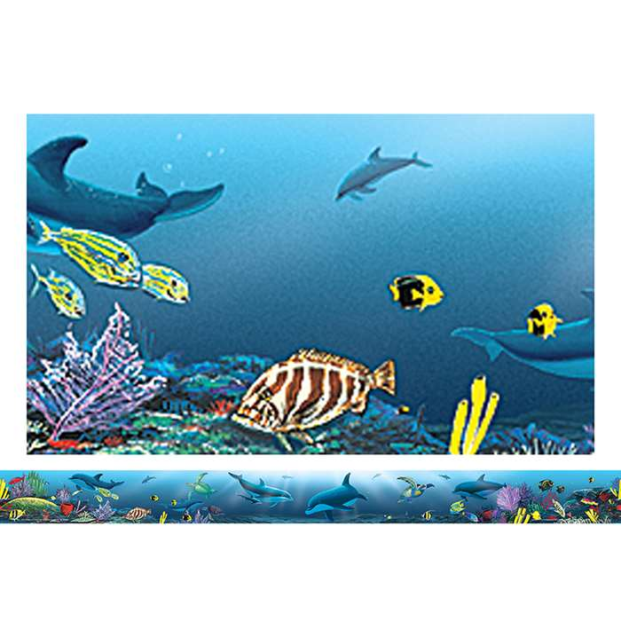 Ocean Life Straight Border Trim From Wyland By Teacher Created Resources