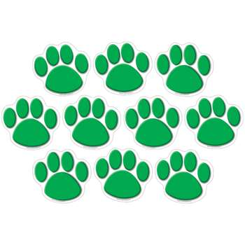 Green Paw Print Accents 30 Pk By Teacher Created Resources