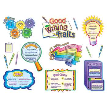 Good Writing Traits Bulletin Board Set By Teacher Created Resources