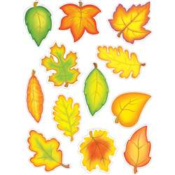 Accent Dazzlers Autumn Leaves By Teacher Created Resources
