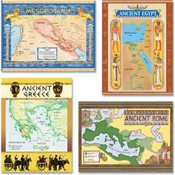 Ancient Civilization Bulletin Board Set By Teacher Created Resources