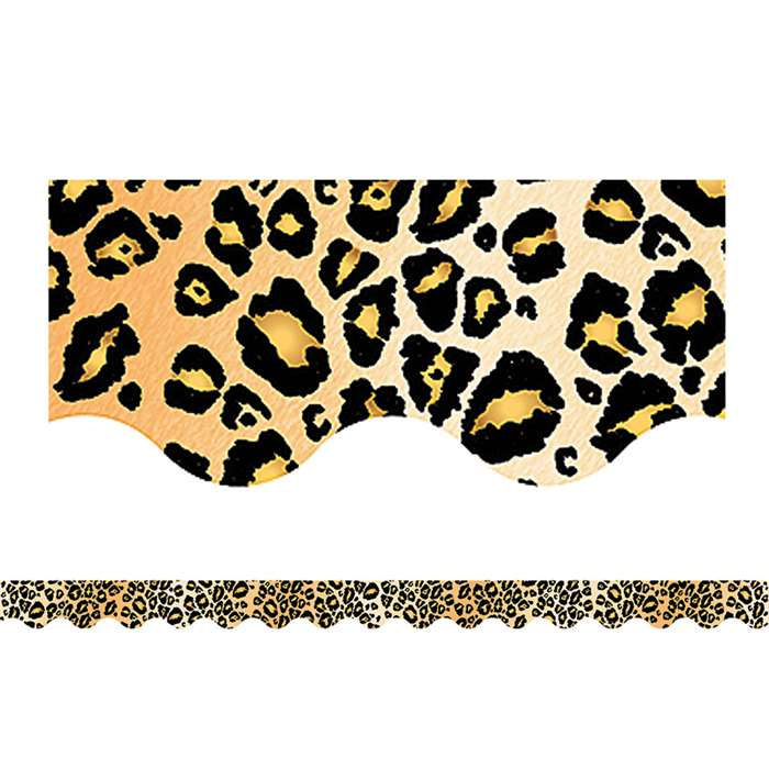 Leopard Border Trim By Teacher Created Resources