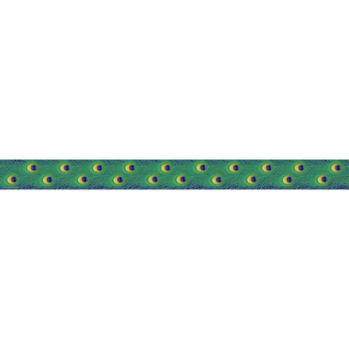 Peacock Straight Border Trim By Teacher Created Resources
