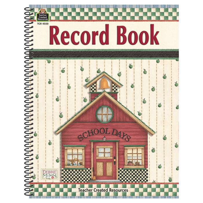 Dm Record Book By Teacher Created Resources
