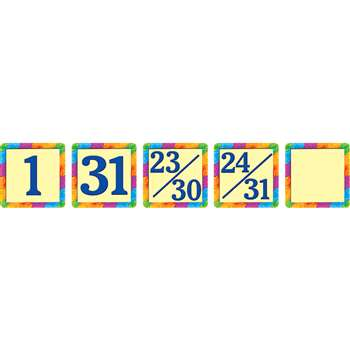 Rainbow Calendar Day Mini Packs By Teacher Created Resources