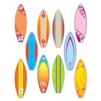 Surfboards Accents By Teacher Created Resources