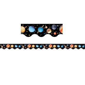Solar System Border Trim By Teacher Created Resources