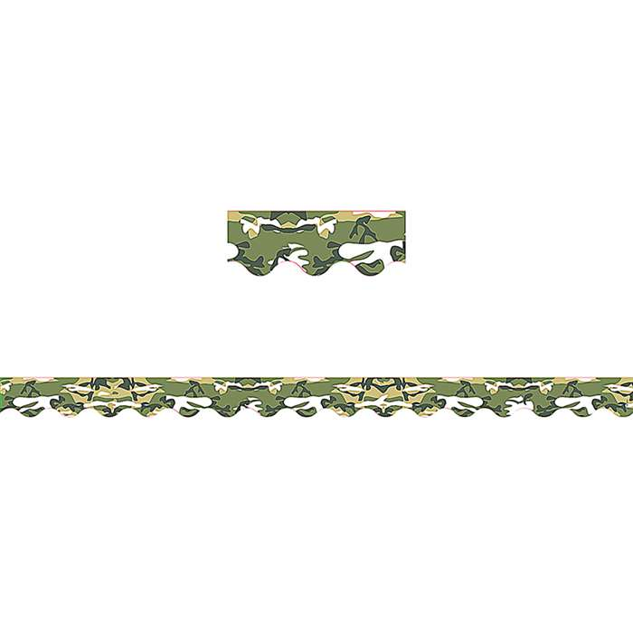 Camouflage Border Trim By Teacher Created Resources