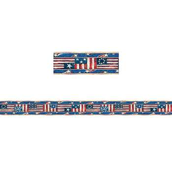 Sw Patriotic Straight Border Trim By Teacher Created Resources
